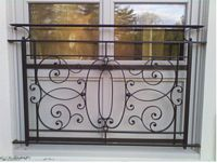 window panel railing